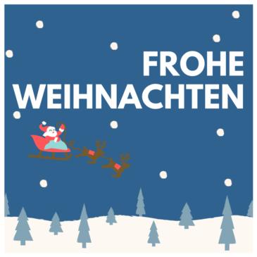 Frohe Weihnachten 🎅